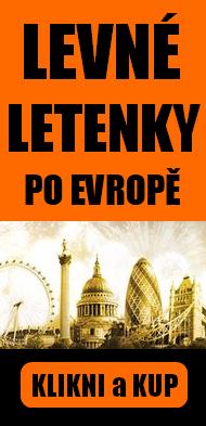 levné letenky po Evropě